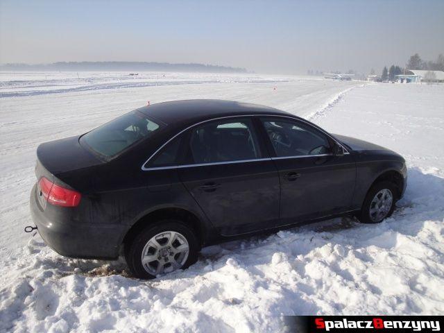 Audi w śniegu na Snow Fun w Nowym Targu