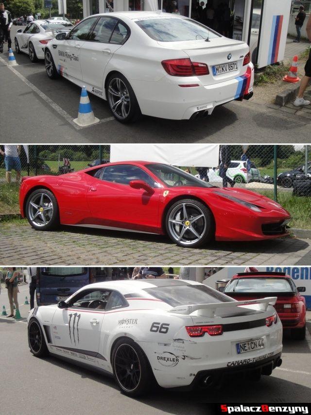Auta z oponami Michelin Pilot Super Sport na Nurburgring Nordschleife