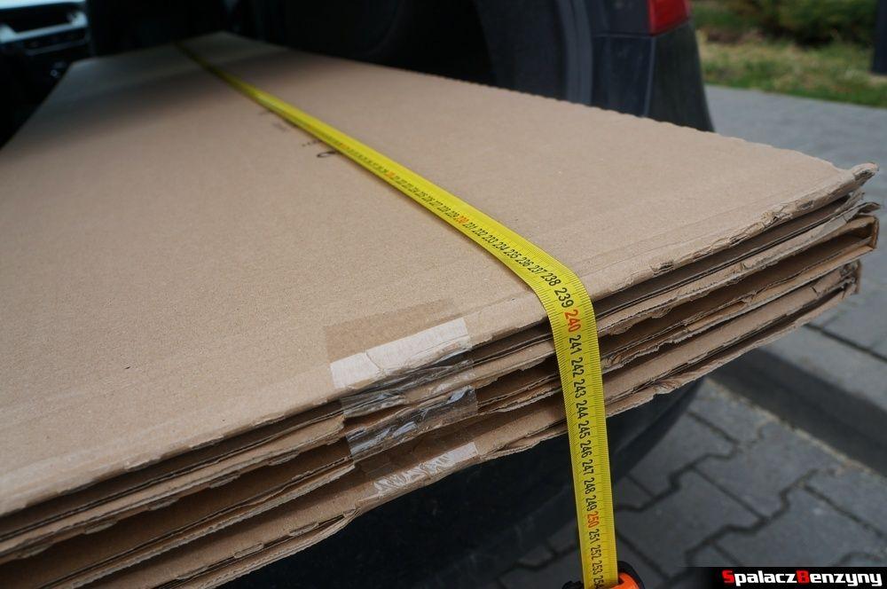 Bagażnik Auid A4 B8 sedan zapakowane fronty 2