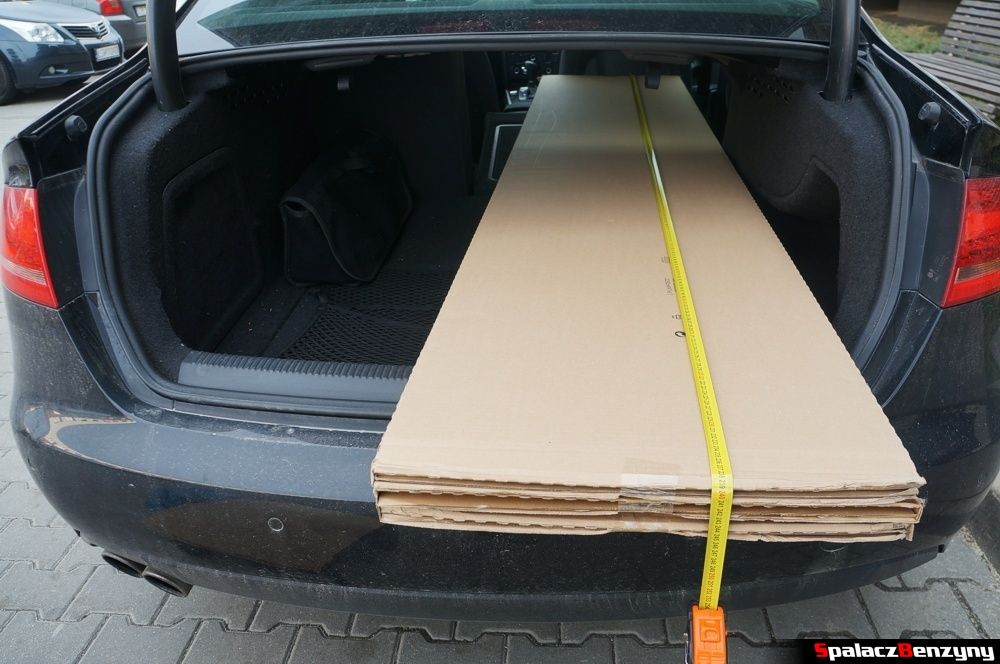 Bagażnik Auid A4 B8 sedan zapakowane fronty 3
