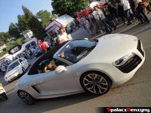 Białe Audi R8 na Worthersee 2013