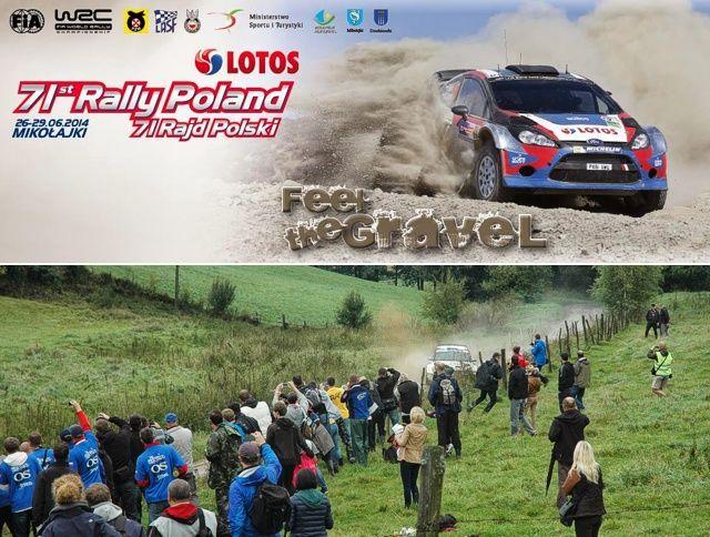 Bilety i kibice na 71 Rajd Polski LOTOS 2014