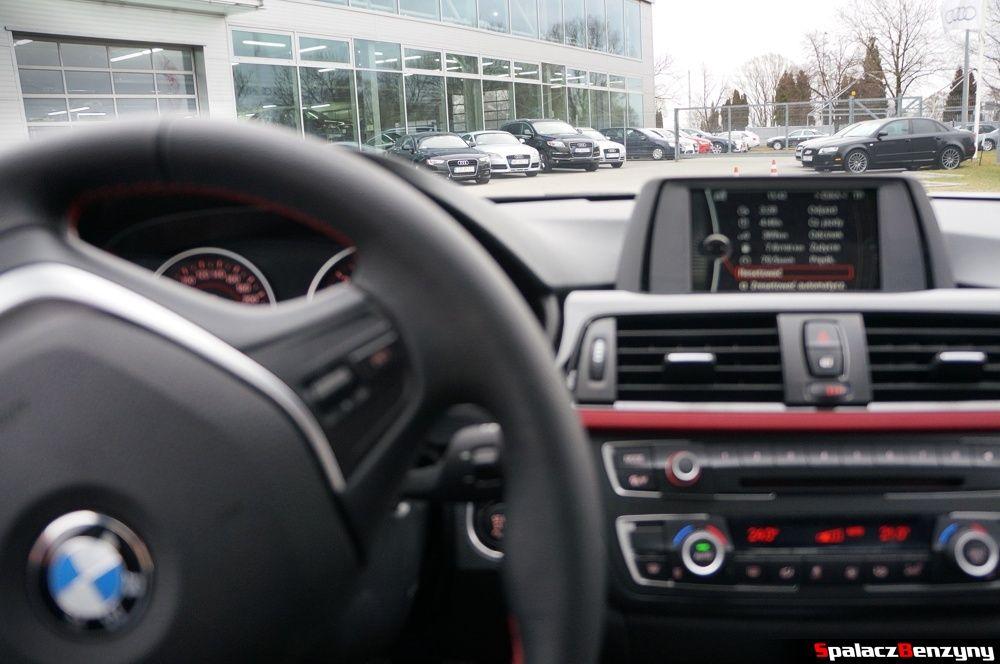 BMW 316i 2013 przed serwisem Audi