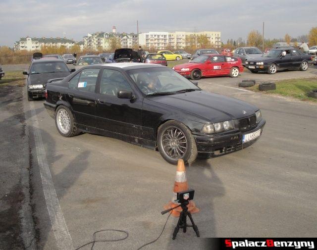 BMW 3 czarne na Rally Sprint AutoEuro 2012 w Lublinie