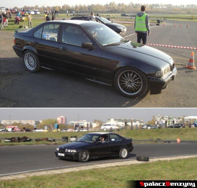 BMW 3 czarne na Rally Sprint Cemex 2012 w Lublinie