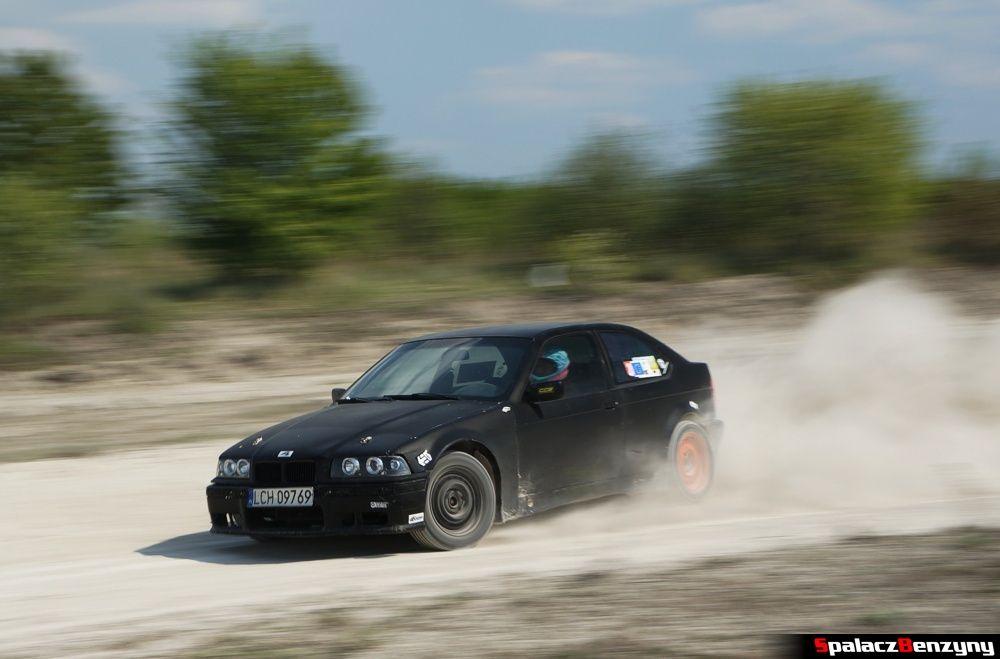 BMW 3 kompakt czarny na szutrowy RS Chełm 1 maja 2014