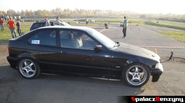 BMW 3er czarne na Rally Sprint Cemex 2012 w Lublinie