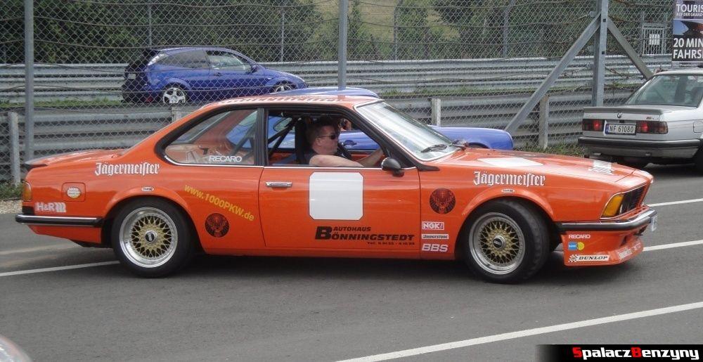 BMW 6 E24 na Nurburgring Nordschleife