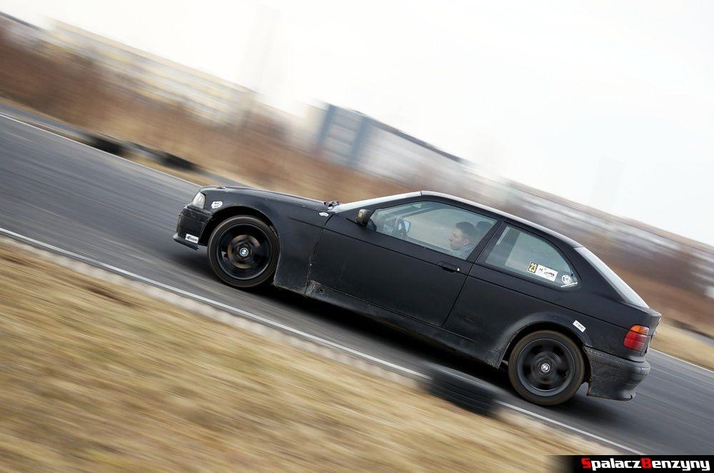 BMW kompakt czarny na RS Kulig 2014 Tor Lublin