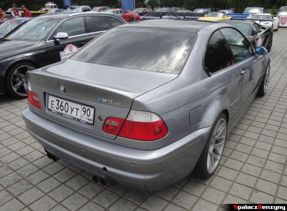 BMW M3 CSL na Gran Turismo Polonia 2013