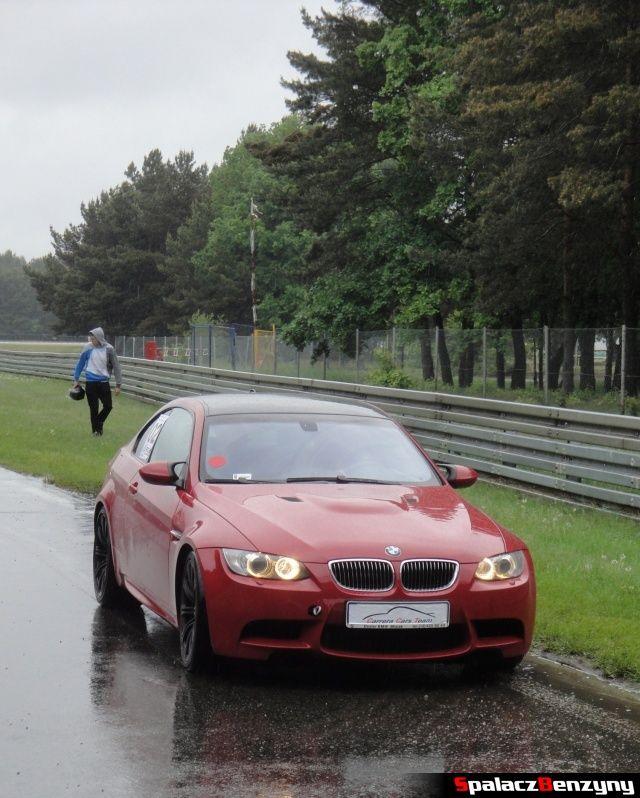 BMW M3 E92 pomarańczowe na TPTD 25 maj 2013