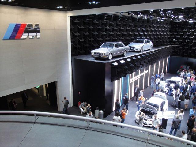 BMW M na targach Frankfurt 2011