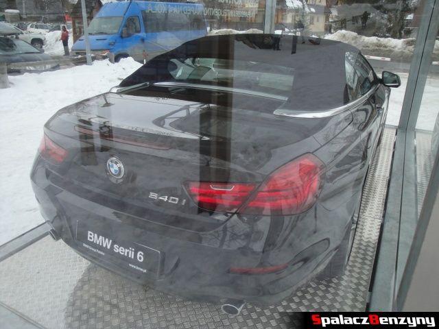 BMW serii 6 640i xDrive pod Nosalem