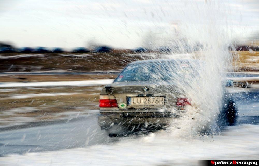BMW w śniegu na Treningu Driveart 8 luty 2013
