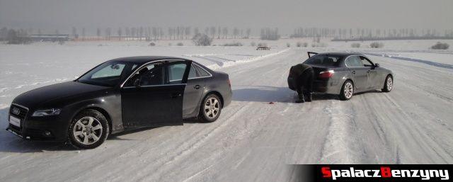 BMW xDrive i Audi A4 Quattro na Torze Snow Fun w Nowym Targu