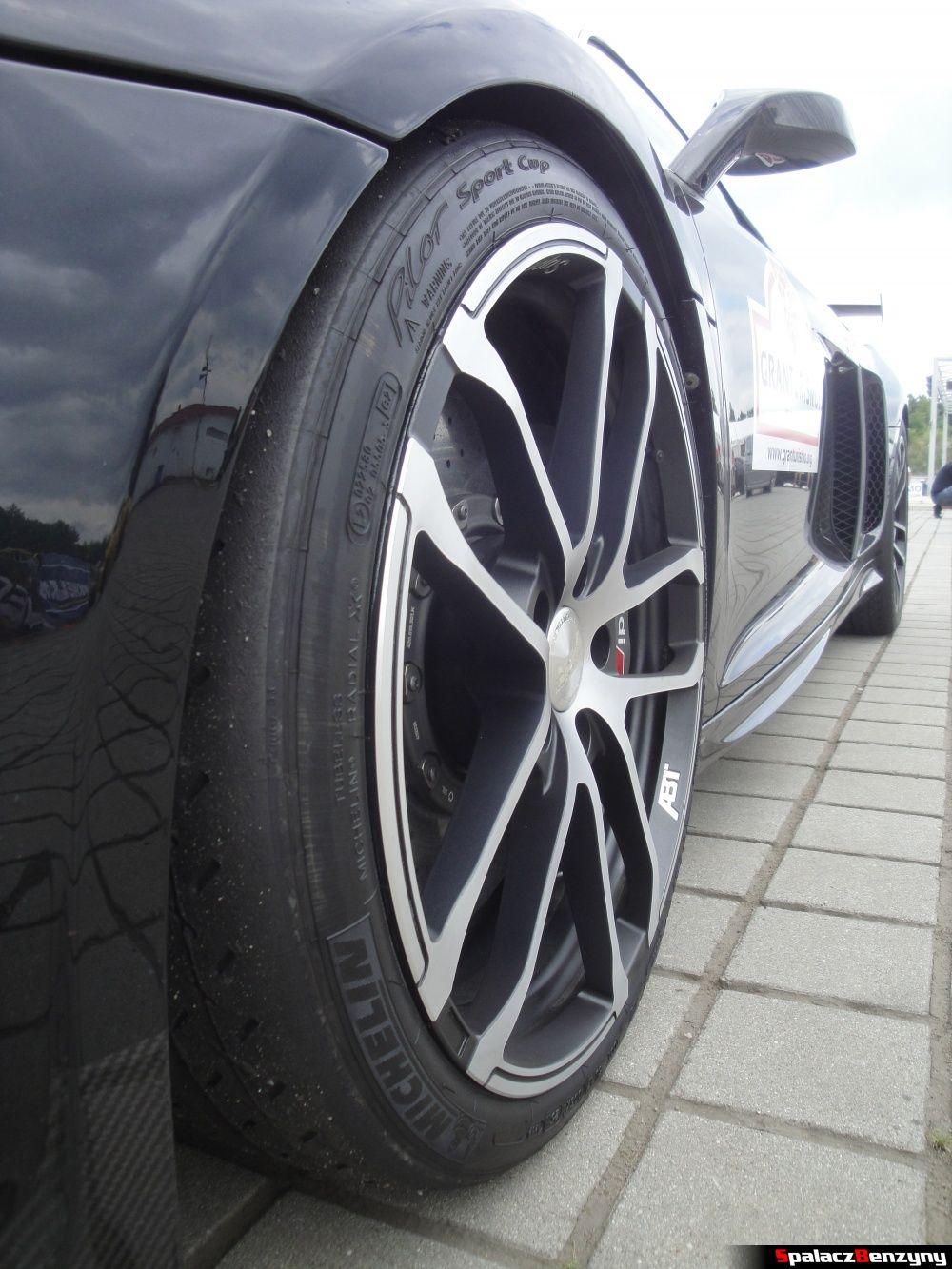 Bok Audi R8 V8 GTR na Gran Turismo Polonia 2013