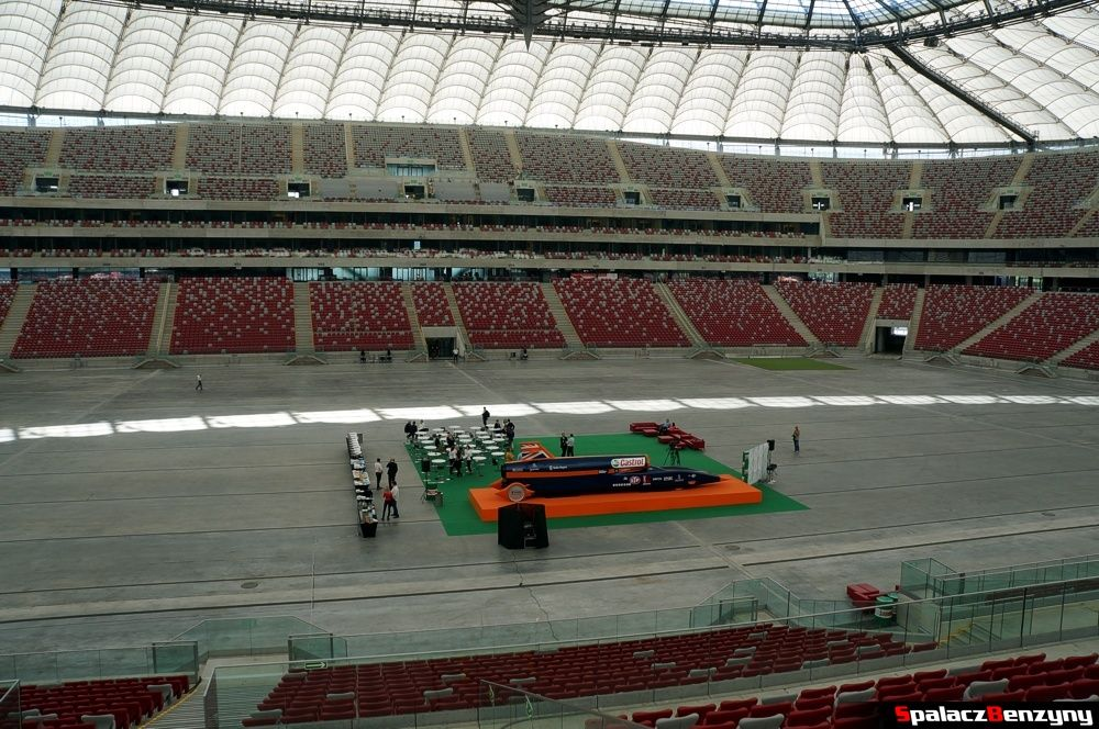 Castrol na stadionie narodowym