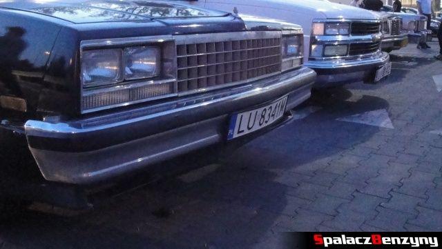 Chevrolet i inne amerykańskie auta na Lubelskie Klasyki Nocą