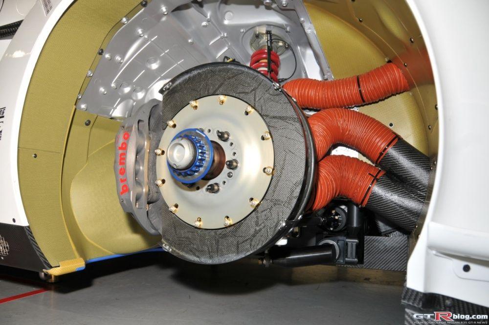 Chłodzenie hamulców Nissan GTR