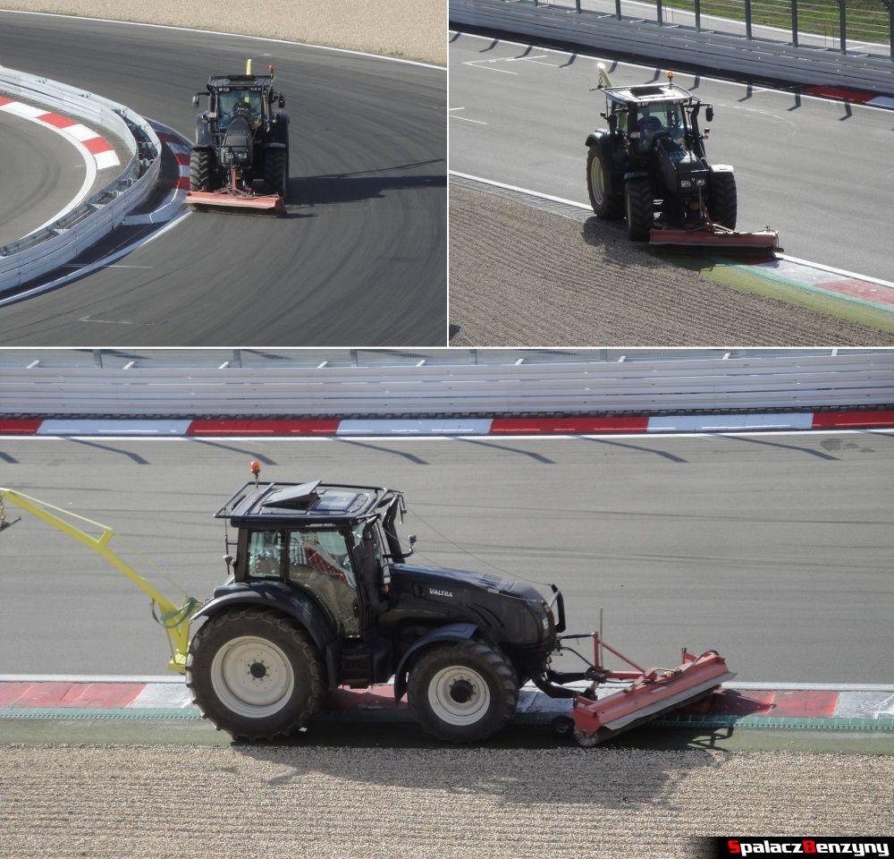 Ciągnik na torze Nurburgring