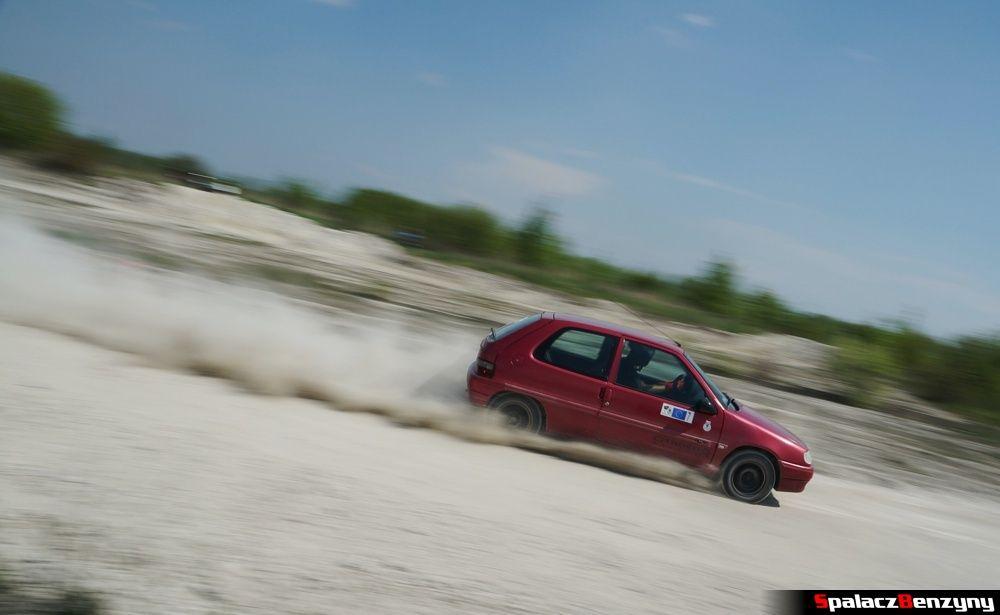 Citroen Saxo na szutrowy RS Chełm 1 maja 2014