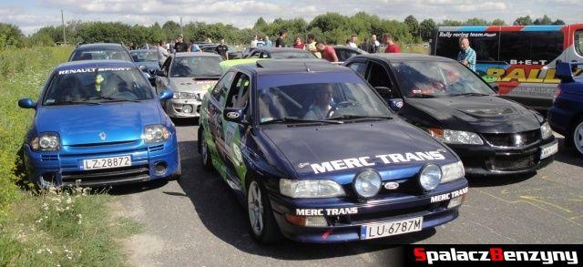Clio, Sierra, Evo na Rally Sprint Cartmax 2012 w Lublinie