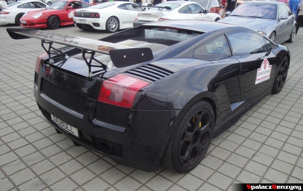 Czarne Lamborghini Gallardo na Gran Turismo Polonia 2013