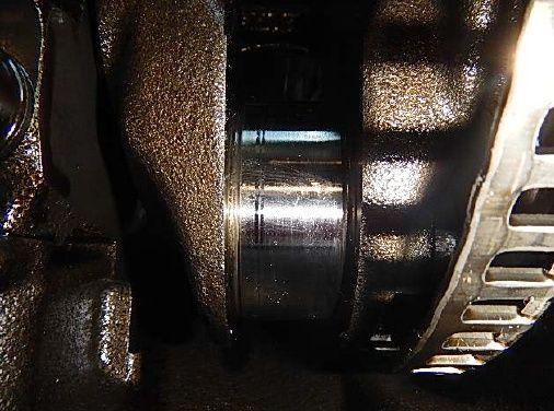 Czop wału korbowego Audi A4 B8 kombi czarne