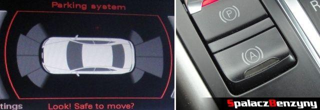 Czujniki parkowania i asystent w Audi A4 B8