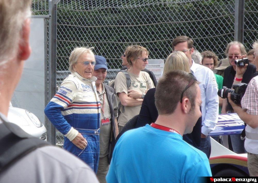 Derek Bell na Nurburgring Nordschleife