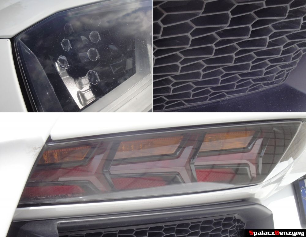Detale Lamborghini Aventador na torze w Poznaniu na Gran Turismo Polonia 2013