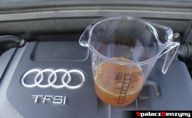 Dolewka 200 ml oleju 4000 km po Stage 1