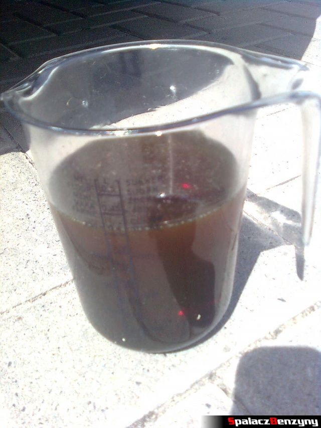 Dolewka 400 ml oleju 4000 km po wymianie oleju na Millers 5w40