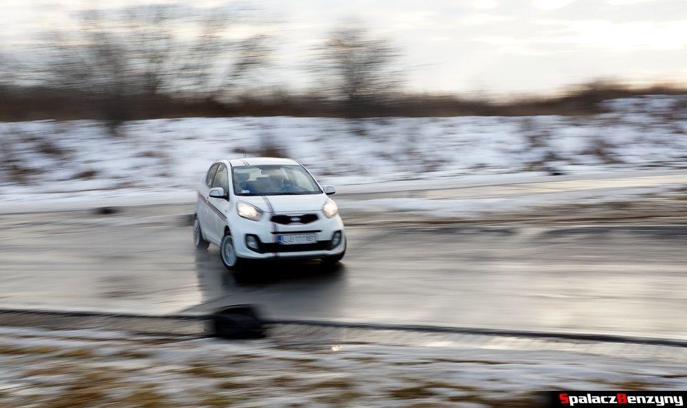 Drift Kia Picanto na Treningu Driveart 8 luty 2013