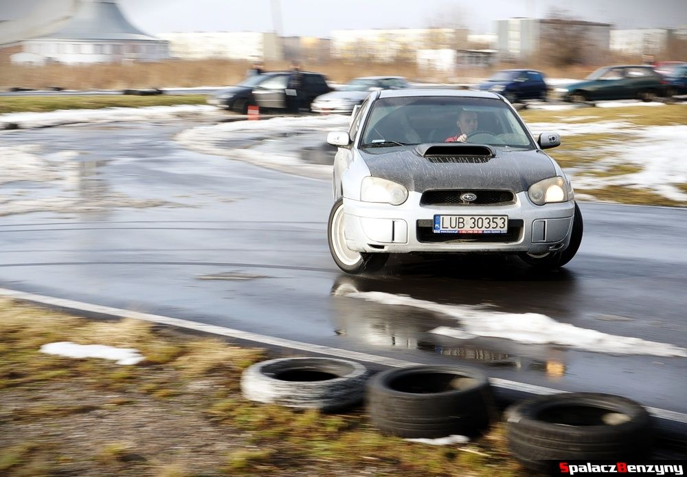 Drift Subaru WRX na Rally Sprint 9 luty 2014