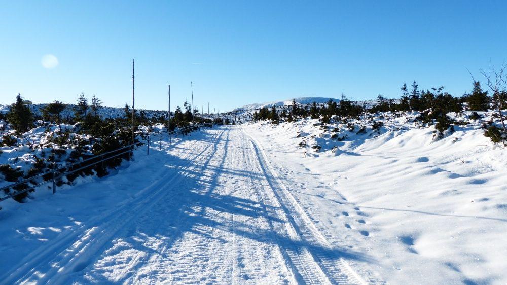 Droga na Śnieżkę z Kopy w Karpaczu