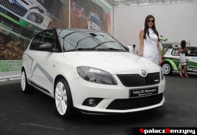 Drogowa Skoda Fabia RS na Worthersee 2013