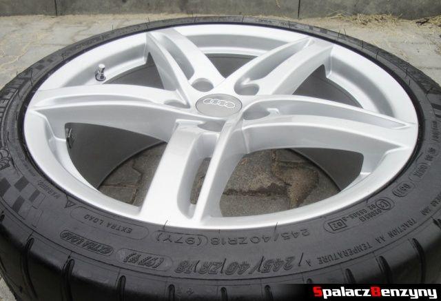 Felga 18 cali i opona Michelin do Audi A4