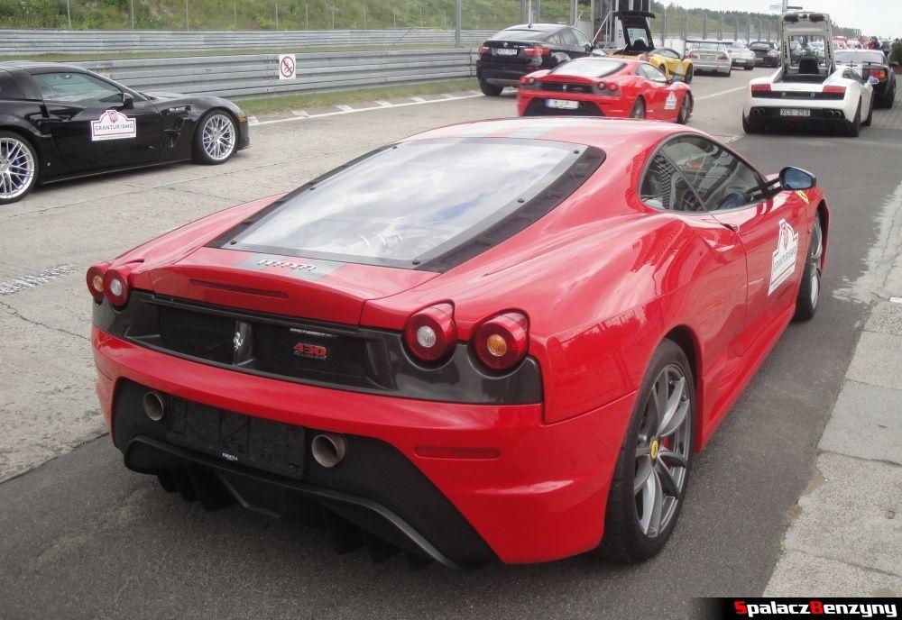Ferrari 430 Scuderia na torze Poznań na Gran Turismo Polonia 2013