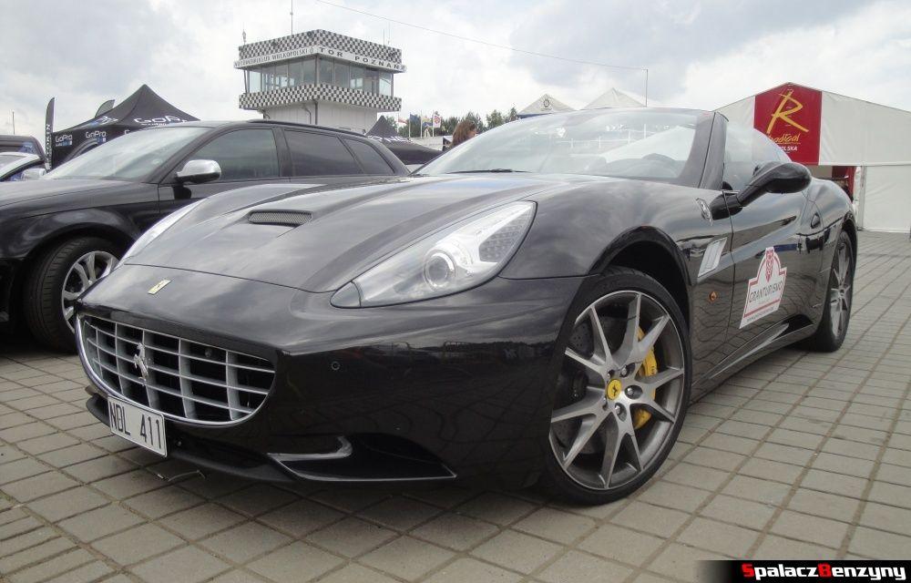 Ferrari California przód Tor Poznań na Gran Turismo Polonia 2013