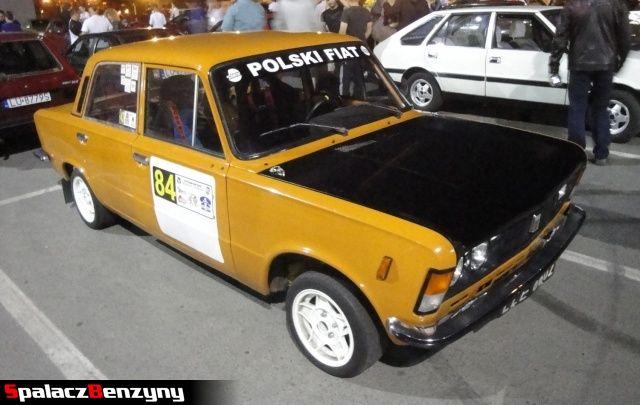 Fiat 125p du�y fiat na Lubelskie Klasyki Noc�