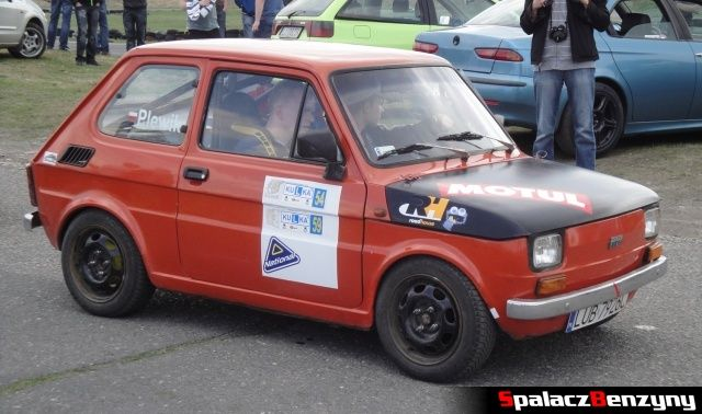Fiat 126p na Rally Sprint Kulka 2012 w Lublinie