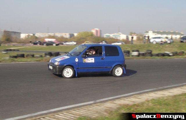 Fiat Cinquecento na Rally Sprint Cemex 2012 w Lublinie