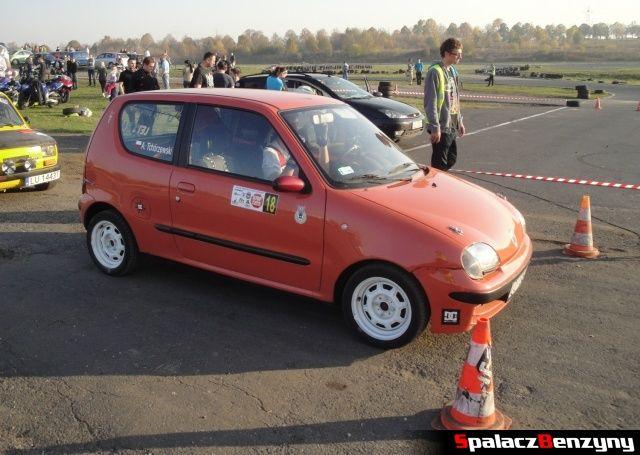 Fiat SC na Rally Sprint Cemex 2012 w Lublinie