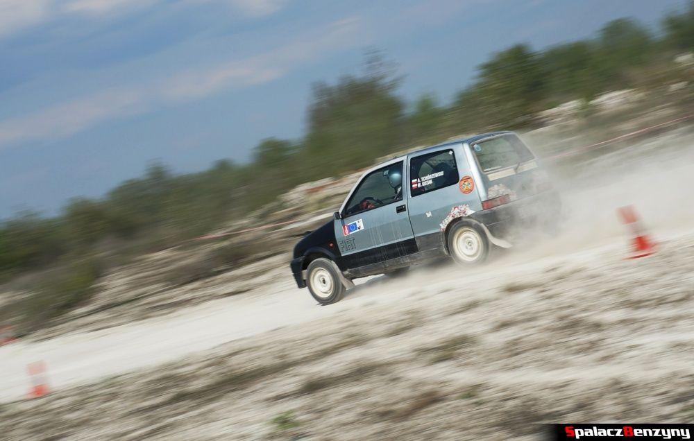Fiat SC szary na szutrowy RS Chełm 1 maja 2014