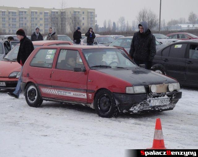 Fiat UNO na RS Rally na Torze w Lublinie 2013