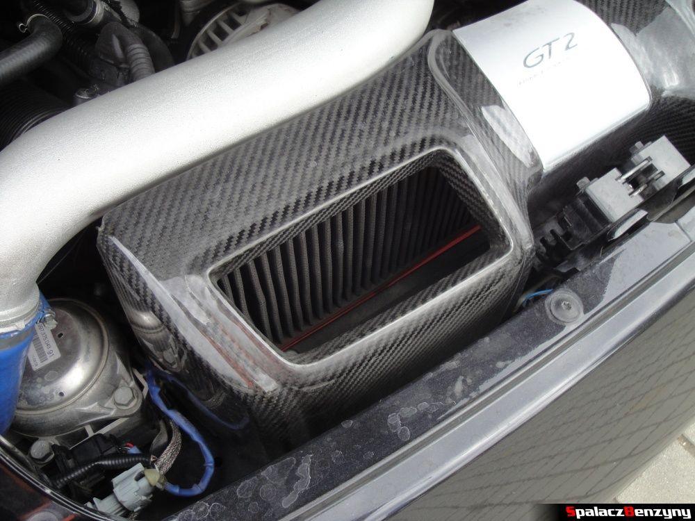 Filtr powietrza Porsche 997 GT2 na Gran Turismo Polonia 2013