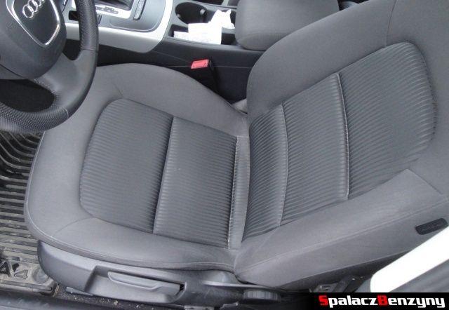 Fotel kierowcy w Audi A4 B8