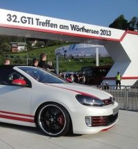 Golf GTI na 32 GTI Treffen am Worthersee 2013