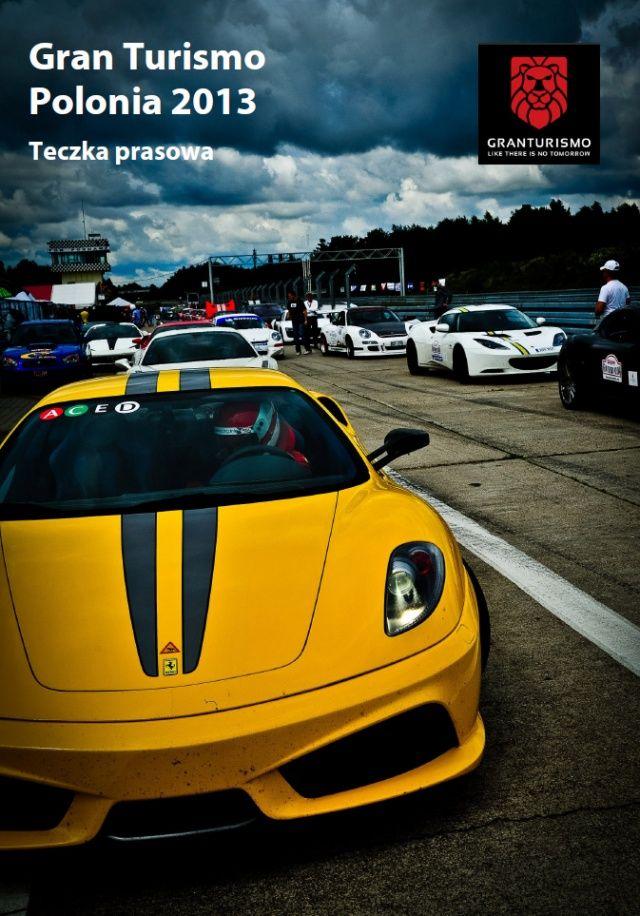 Gran Turismo Polonia 2013 teczka prasowa